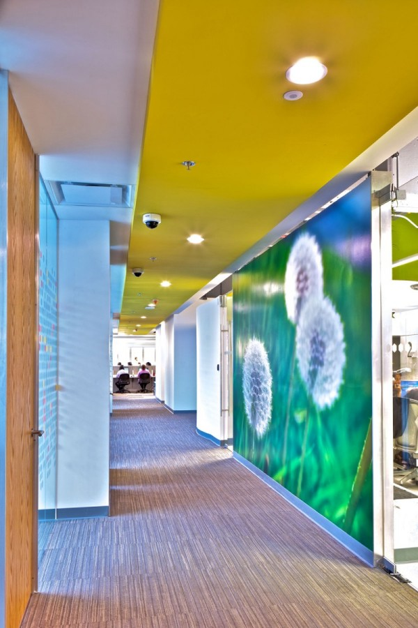 Colorful sustainable offices San Pablo Group Mexico 12 600x900 Colorful and Inspiring: Sustainable Offices for San Pablo Group in Mexico