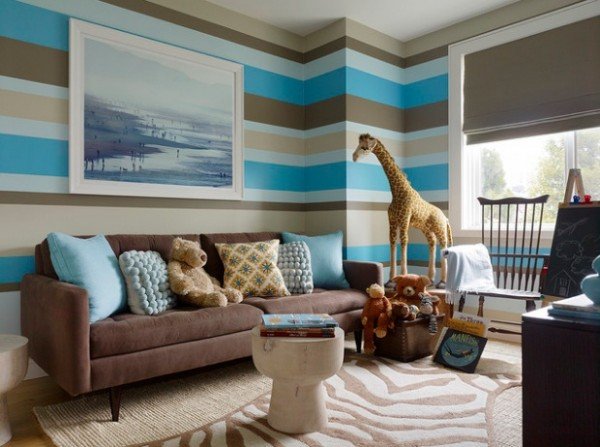Design ideas for boys bedrooms 02 600x447 18 Great Design Ideas and Colour Schemes for Boys Rooms