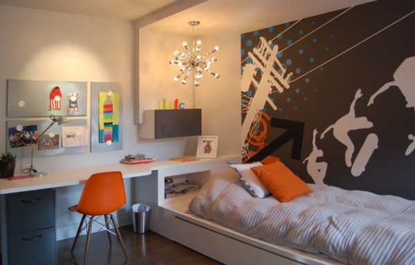 Design ideas for boys bedrooms 07 600x384 18 Great Design Ideas and Colour Schemes for Boys Rooms