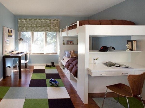 Design ideas for boys bedrooms 08 600x446 18 Great Design Ideas and Colour Schemes for Boys Rooms