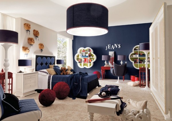 Design ideas for boys bedrooms 10 600x421 18 Great Design Ideas and Colour Schemes for Boys Rooms