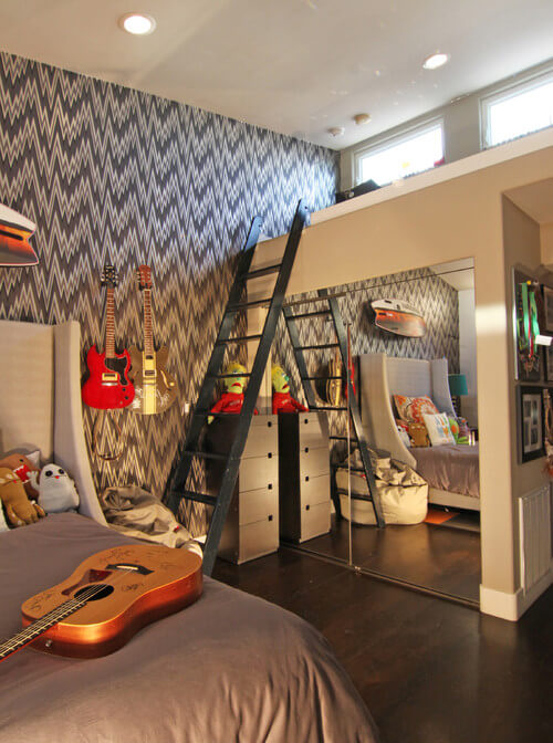Design ideas for boys bedrooms 16 18 Great Design Ideas and Colour Schemes for Boys Rooms