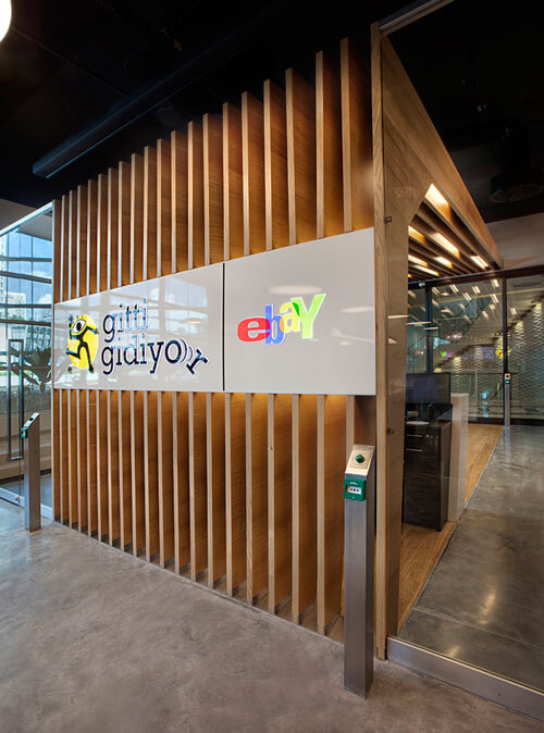 Ebay office design in Istanbul Fun and Attractive Open Office, eBay – GittiGidiyor in Istanbul