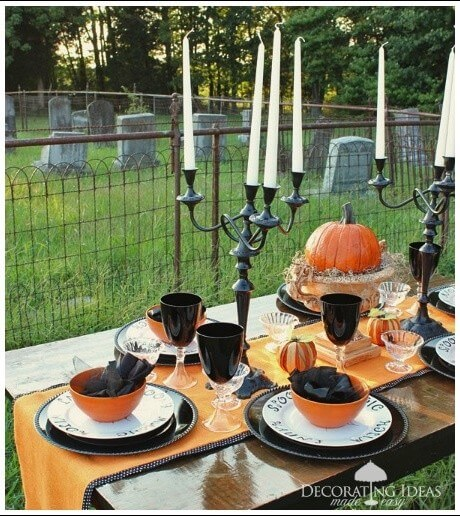 Halloween party decorations 09 Spooky Halloween Party Ideas