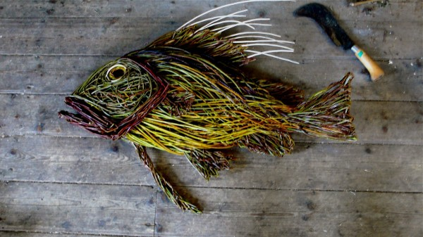 John Dory 600x337 Beautiful Architecture with Willow Sculptures