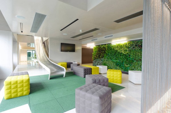 Microsoft headquarters in vienna boasts ultra modern for Office design concepts and needs