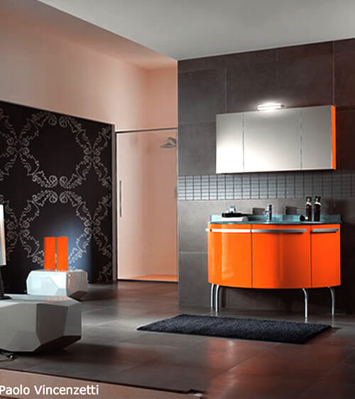 Orange and black Halloween colors 11 Intimacy and Drama: Interior Design Inspired by Halloween Colors