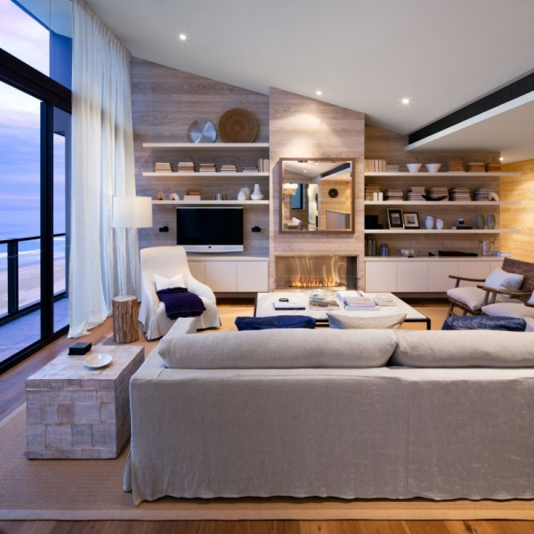 Royal Penthouse II by Coco Republic Interior Design 01 600x600 Australian Penthouse Apartment Displaying Casual Elegance