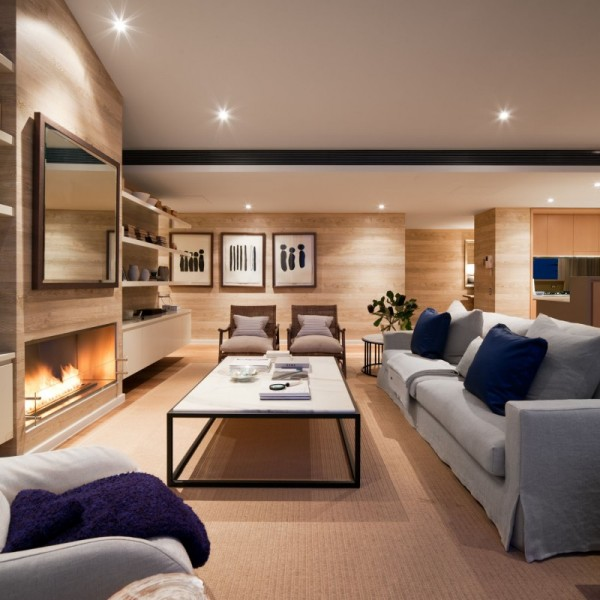 Royal Penthouse II by Coco Republic Interior Design 02 600x600 Australian Penthouse Apartment Displaying Casual Elegance