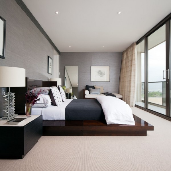 Royal Penthouse II by Coco Republic Interior Design 08 600x600 Australian Penthouse Apartment Displaying Casual Elegance