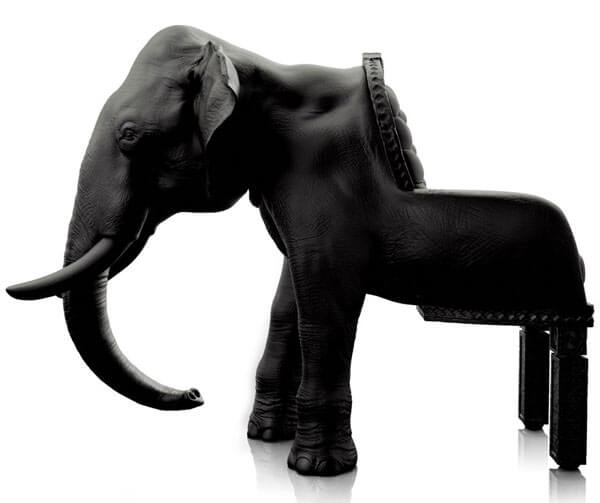The Elephant Chair by Maximo Riera 07 The Animal Chair Collection by Maximo Riera
