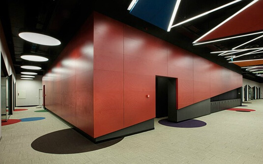 Working areas by OSO Architecture 04 Fun and Attractive Open Office, eBay – GittiGidiyor in Istanbul
