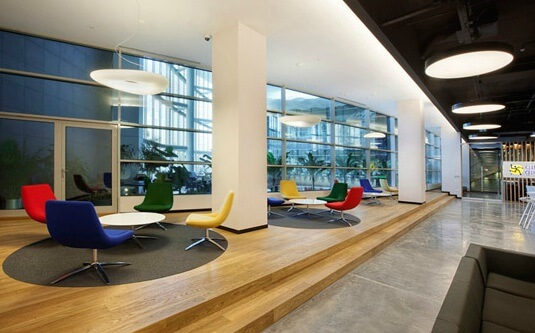 Working areas by OSO Architecture 05 Fun and Attractive Open Office, eBay – GittiGidiyor in Istanbul