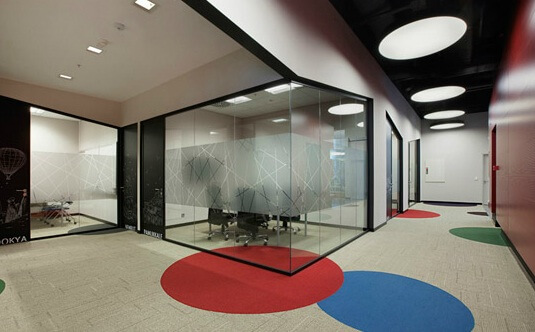 Working areas by OSO Architecture 07 Fun and Attractive Open Office, eBay – GittiGidiyor in Istanbul