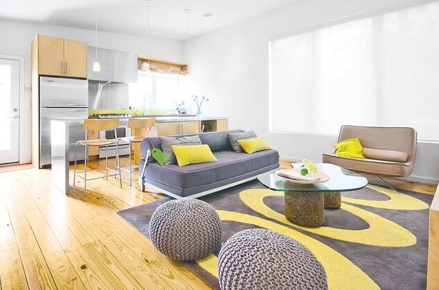 trendy color combinations yellow and gray interior design design