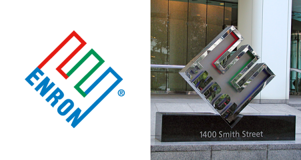 enron logo 600x320 How Much did Famous Logo Designs Cost?