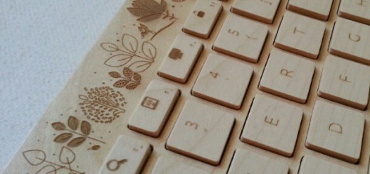 wooden-keyboard