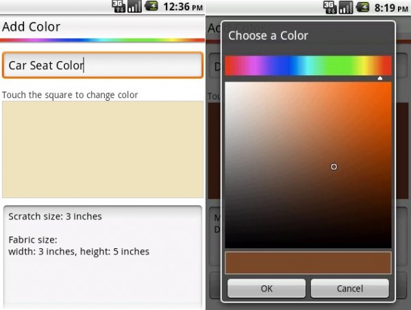 Color Matcher App 600x452 Free Inspiring Android Apps to Help You Decorate