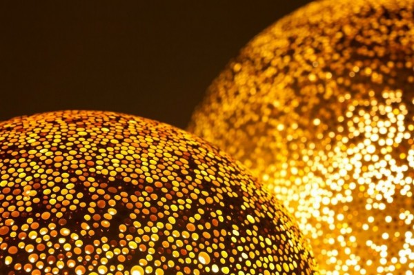 Gold-colored-pendant-light