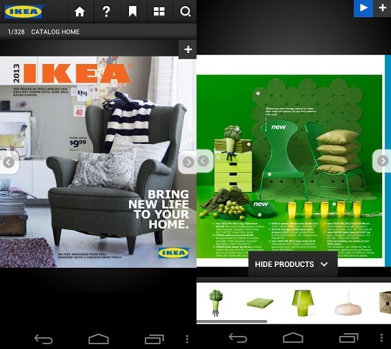 IKEA Catalogue App Free Inspiring Android Apps to Help You Decorate