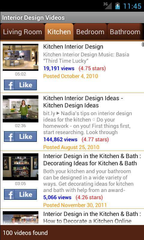 Interior Design Lesson Videos app Free Inspiring Android Apps to Help You Decorate