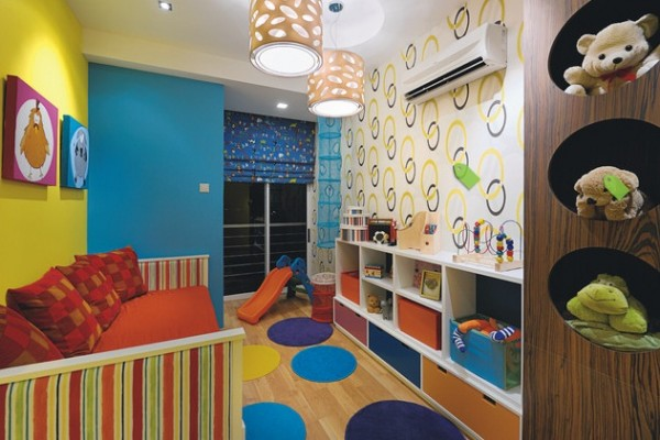 Kids room paint ideas 600x400 Kids Room Wall Decorating Ideas