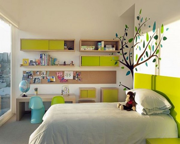 Modern Decor for Kids Rooms 600x480 Kids Room Wall Decorating Ideas