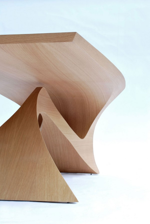 Modern table design 600x896 Form Follows Function Table by Daan Mulder