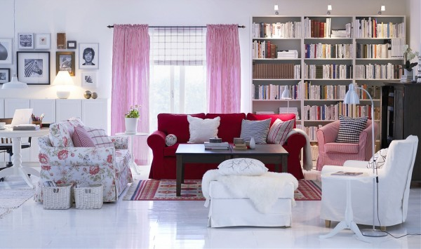 Scandinavian design living room 01 600x355 Scandinavian Design Style for Your Home