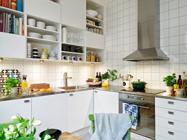 Scandinavian style for kitchen 600x449 Scandinavian Design Style for Your Home