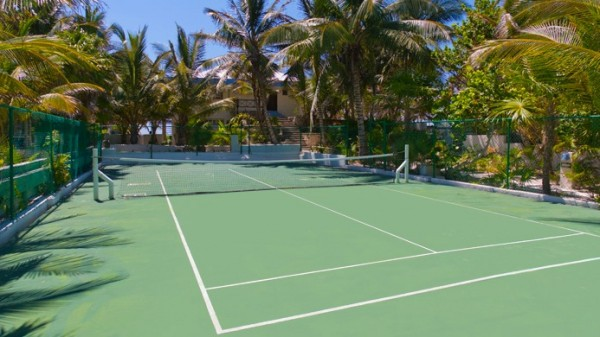 Tennis playground 600x337 Eco Boutique Hotel in a Paradise of Unique Beauty