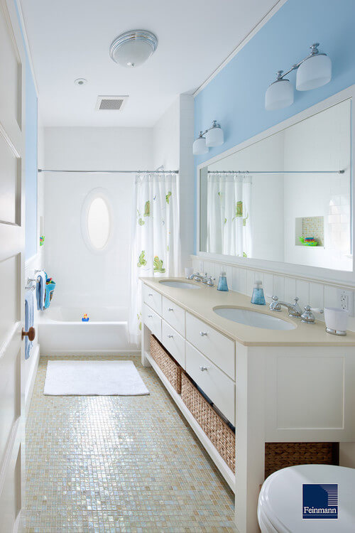 all white bathroom How to Choose Colors for a Bathroom