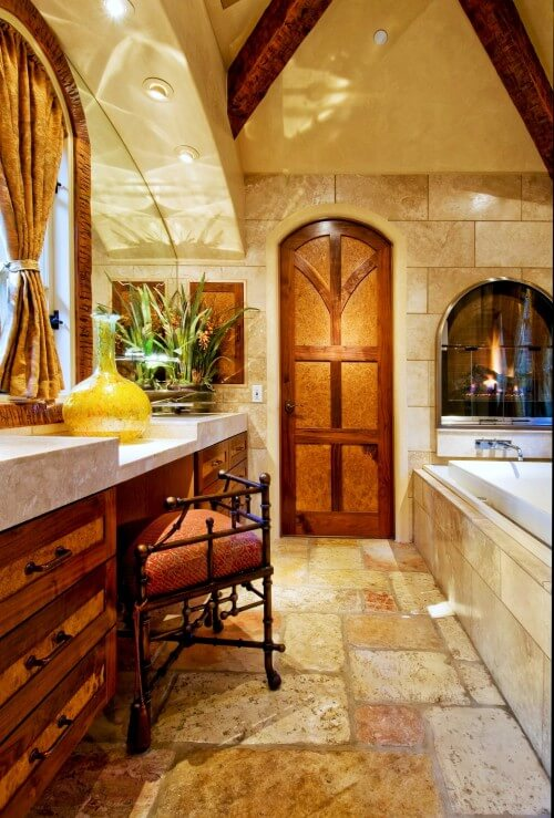 tuscan bathroom design How to Choose Colors for a Bathroom