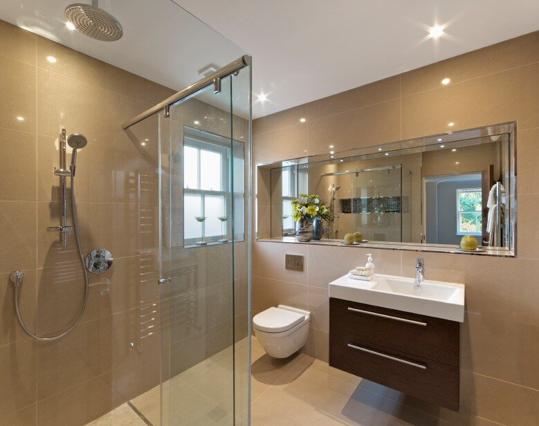 Modern bathroom designs interior design design news and for New small bathroom trends