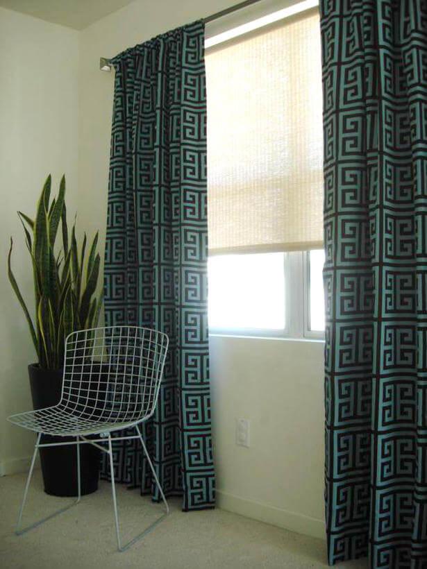 Modern Bedroom Window Curtains modern window treatments – interior design, design news and