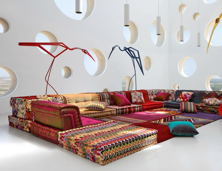 Roche bobois new furniture collections interior design for Canape roche bobois
