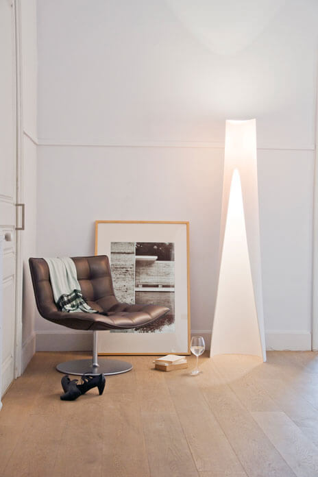 Floor lamp by Oriol Llahona Lighting Designs for Minimalist Modern Interiors