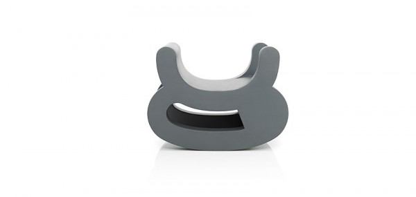 Grey chair by Daisuke Motogi 600x285 Playful Flip Chairs by Daisuke Motogi Architecture