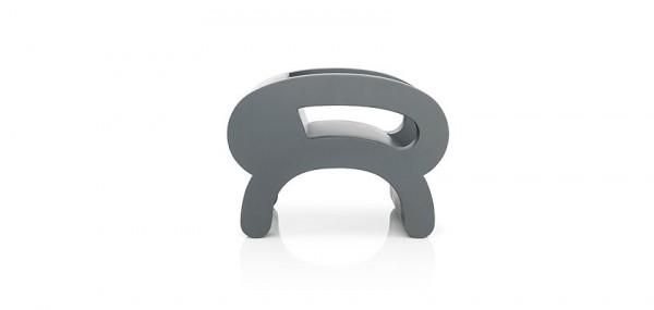 Grey creative chair by Daisuke Motogi 600x285 Playful Flip Chairs by Daisuke Motogi Architecture