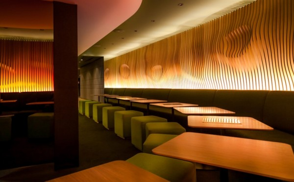 Hote O restaurant in Paris 600x372 Futuristic Design and Friendly Atmosphere: Hotel O in Paris