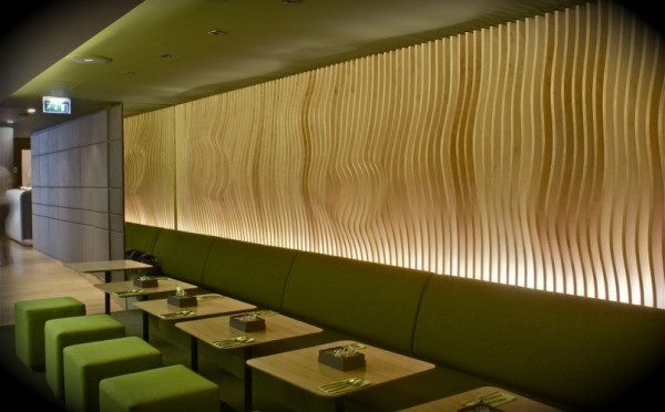 Hotel O restaurant in Paris by ORA ITO 600x372 Futuristic Design and Friendly Atmosphere: Hotel O in Paris