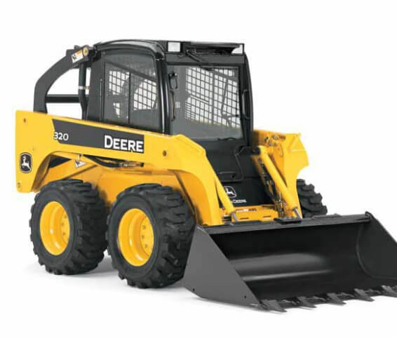 Skid steer loader Helpful Machines in Construction Industry: Skid Steer Loaders