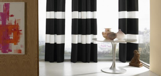 Striped-window-treatments