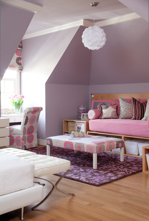 contemporary girl bedroom Stylish Teenage Girl Bedroom Ideas