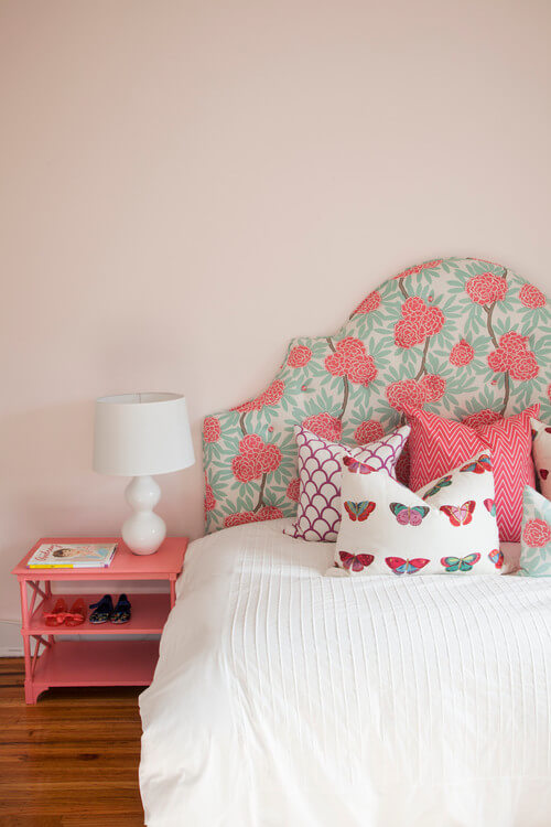 eclectic bedroom pink color Stylish Teenage Girl Bedroom Ideas