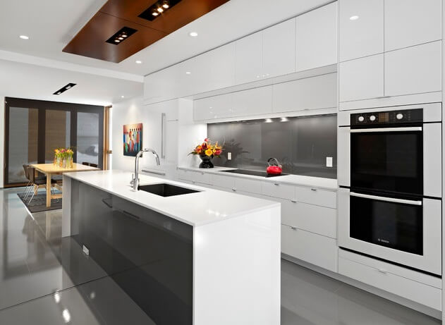 minimalist white kitchen design 13 Beautiful Kitchen Island Ideas