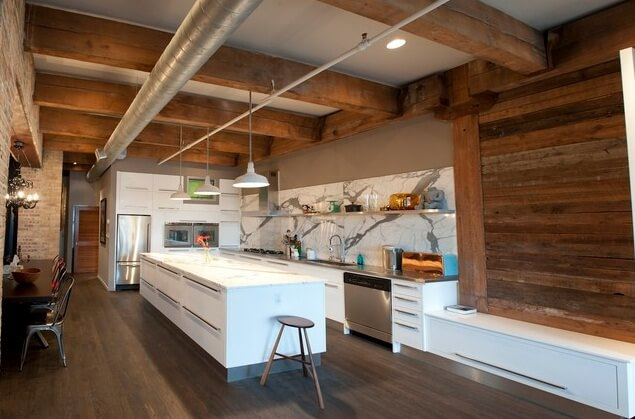 rustic modern kitchen design 13 Beautiful Kitchen Island Ideas