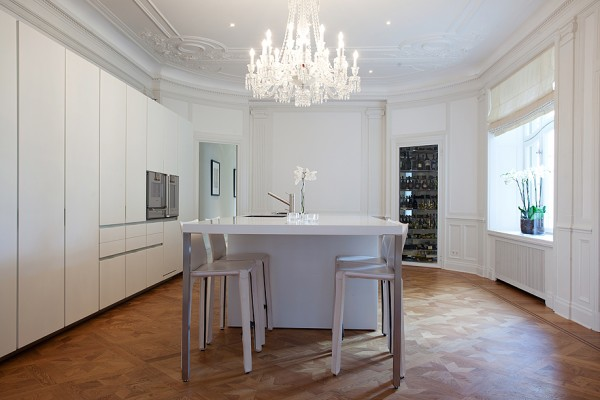 Sophistical Design for Stockholm Apartment