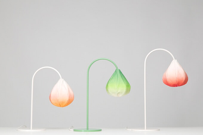 Bloom Lamps by Kristine Five Melvær 01 Delicate Lamp Designs Inspired by Nature