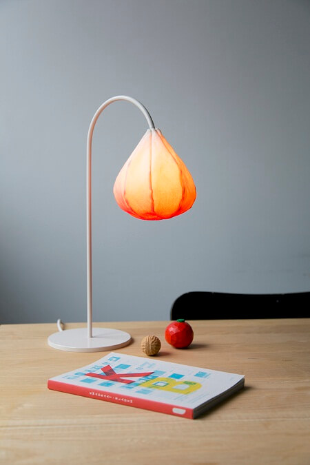 Bloom Lamps by Kristine Five Melvær Delicate Lamp Designs Inspired by Nature